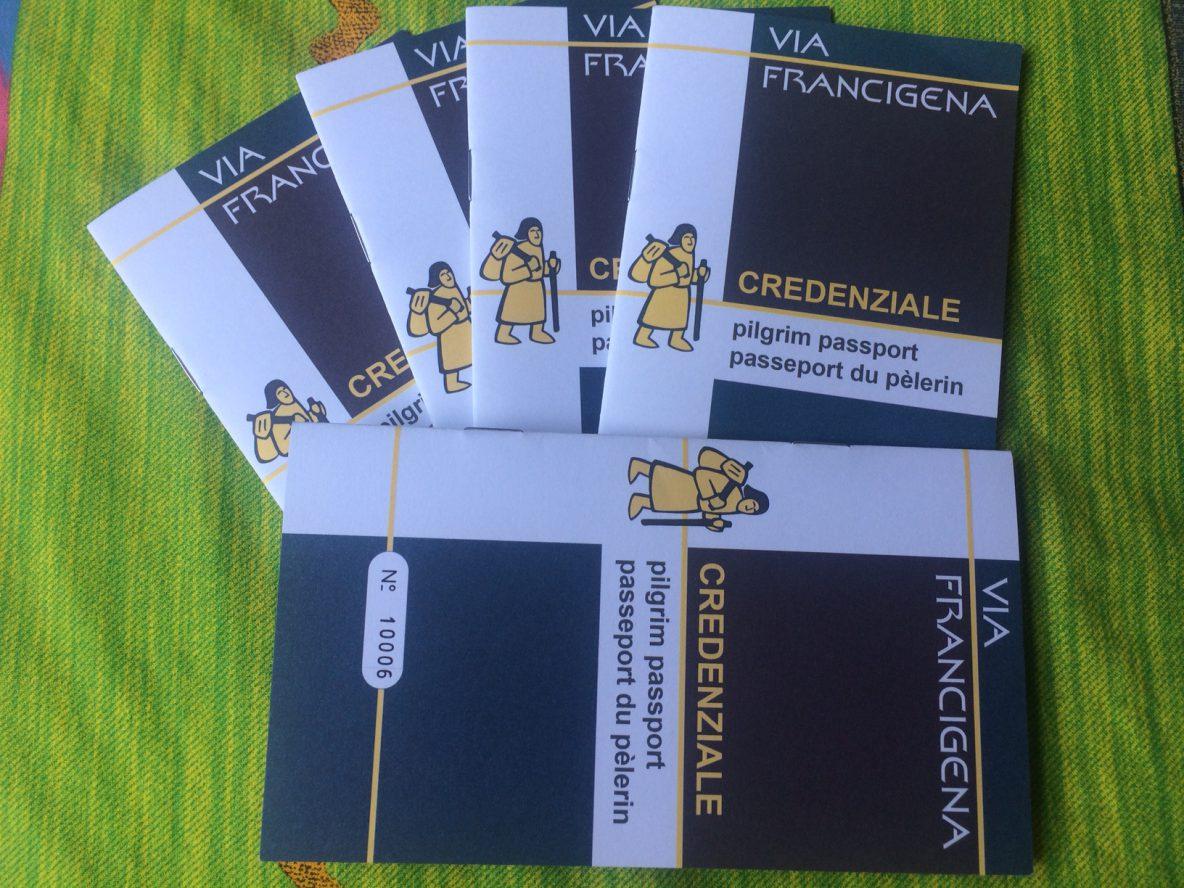 credenziale via Francigeena