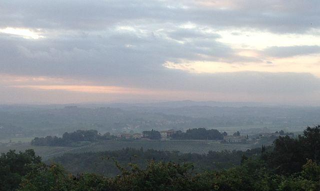 strada San Miniato-Gambassi Terme Toscana