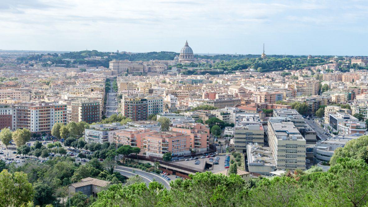 La Storta Roma Via Francigena