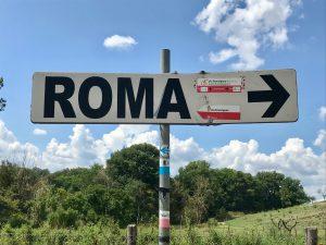 segnaletica Roma Francigena