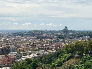 vista Roma Mons Gaudi
