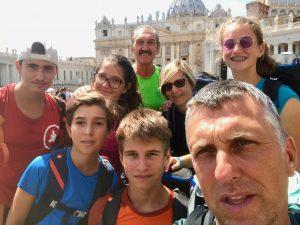 arrivo San Pietro Francigena