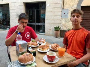colazione Buonconvento